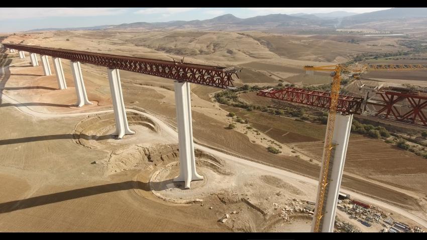 le plus haut viaduc ferroviaire en afrique