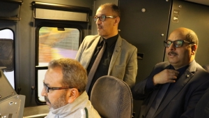 دخول خط السكة الحديدية الرابط بين محطة آغا ومطار هواري بومدين الدولي الجديد حيز الخدمة